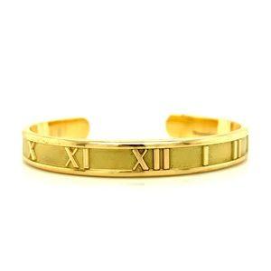Tiffany & Co. 18kt Atlas Cuff Bracelet
